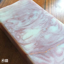 Marble Rose artisan soap by Love Your Suds