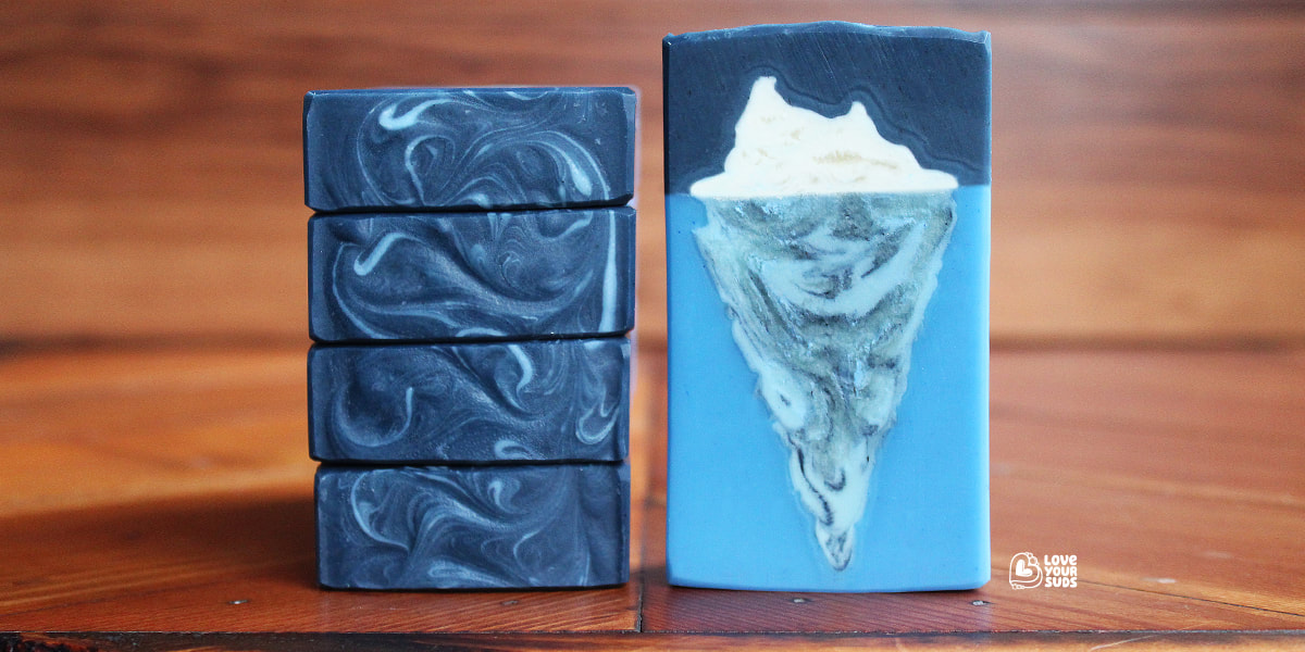 Iceberg artisan handmade soap by Love Your Suds